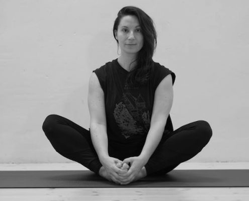 Silvia Maggi, Englis yoga in Berlin