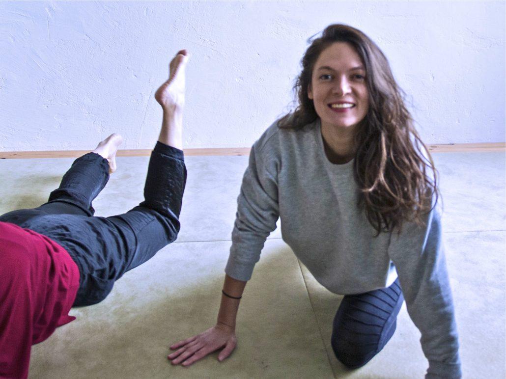 Nadja Tobias, English Yoga in Berlin